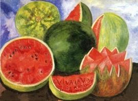 Frida Kahlo[1]. Viva la vida. 1954